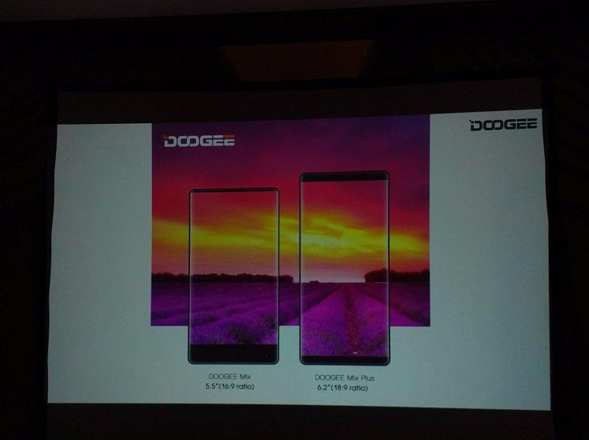 Doogee выпустит безрамочный смартфон в стиле Samsung Galaxy S8