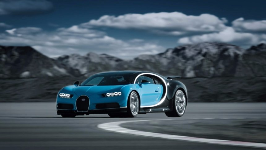 Bugatti выпустит электрический гиперкар