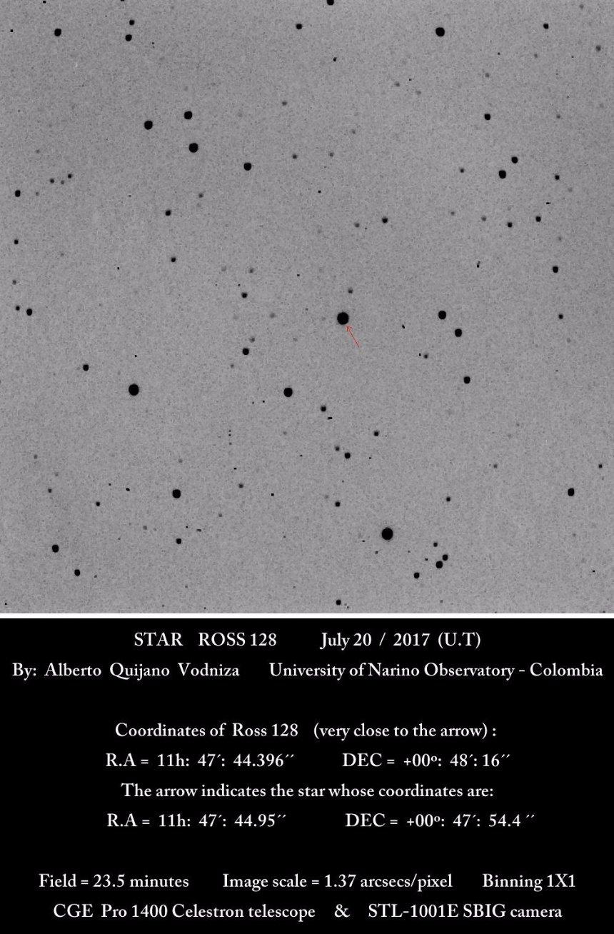 От звезды на расстоянии 11 световых лет поступают странные радиосигналы