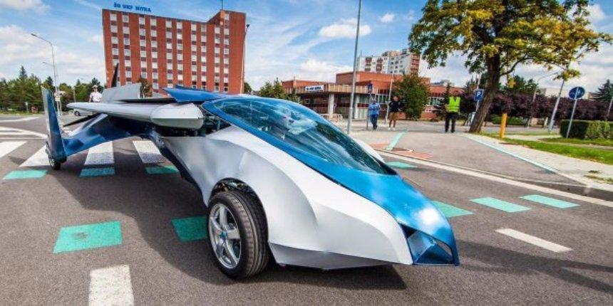 Летающие автомобили мира: топ-5 аэромобилей