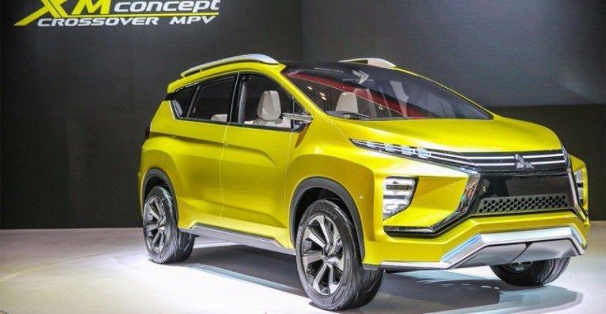 В Сеть выложили первое фото нового минивэна Mitsubishi