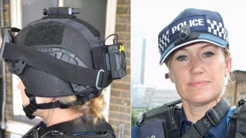 Британских полицейских оснастят видеоамерами