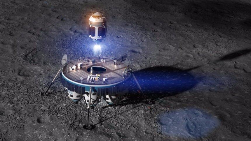 Уже в 2020 году на Луне начнутся первые коммерческие бурения
