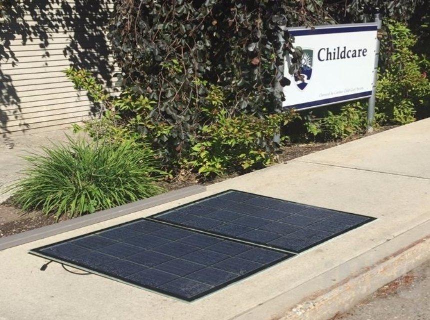 В университете в Британской Колумбии сделают тротуар из солнечных панелей