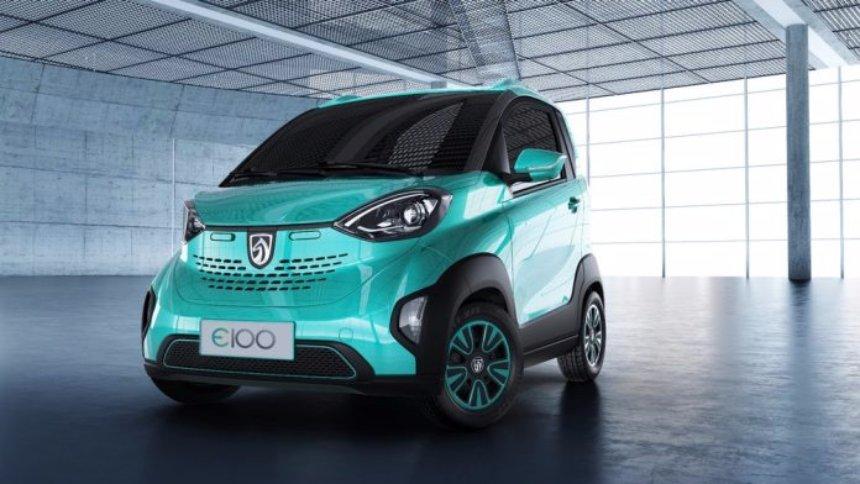 Появился электромобиль производства General Motors