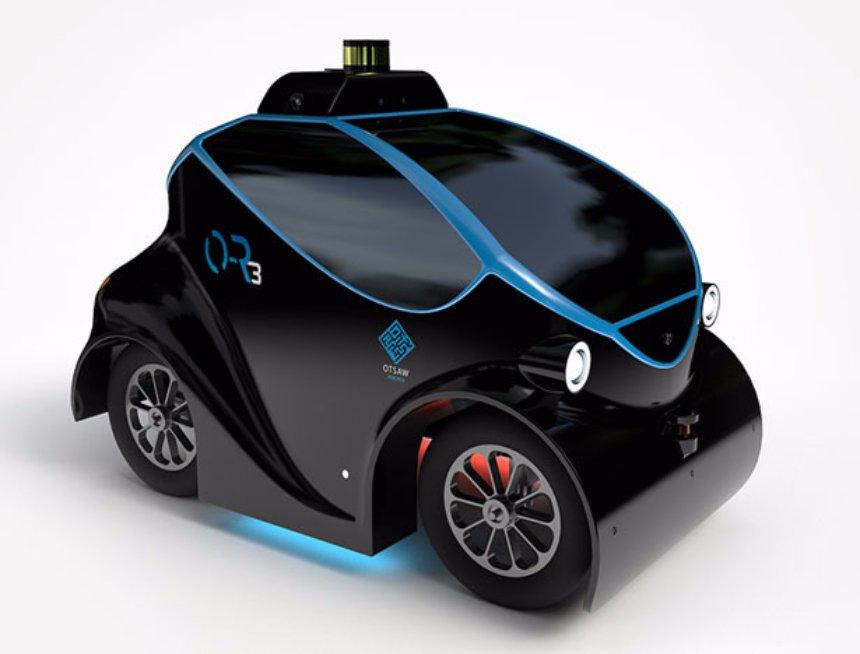 Разработчики показали прототип Робота-патрульного