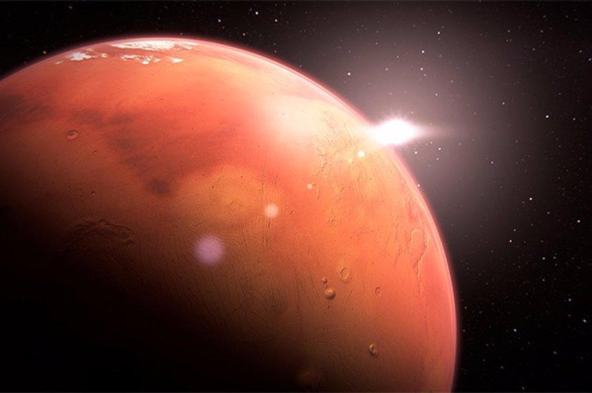 Ученые нашли следы, которые указывают на возможное присутствие жизни на Марсе