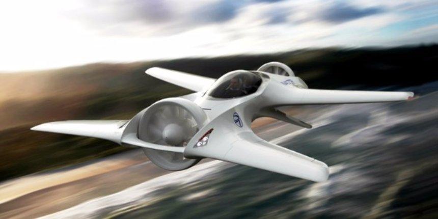 Американские конструкторы представили проект по строительству летающего автомобиля