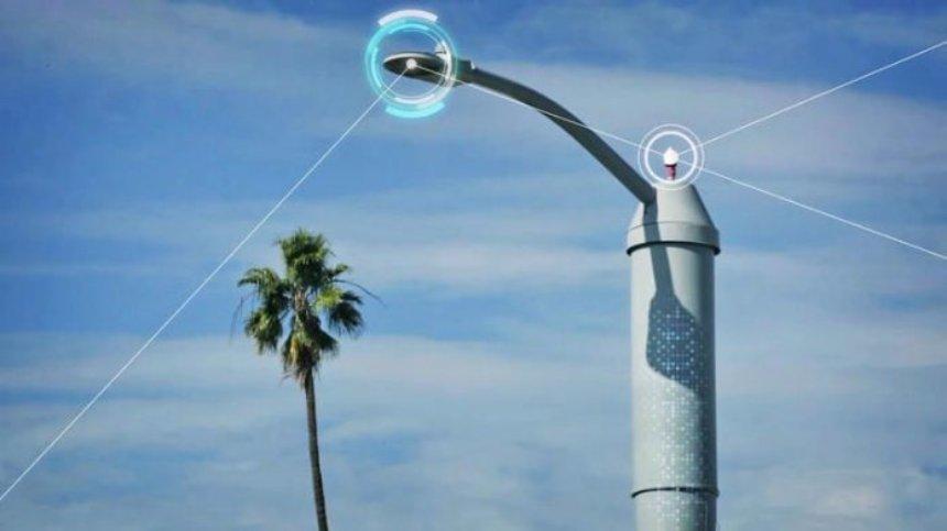 В США установят фонари, которые будут фиксировать экологическую обстановку