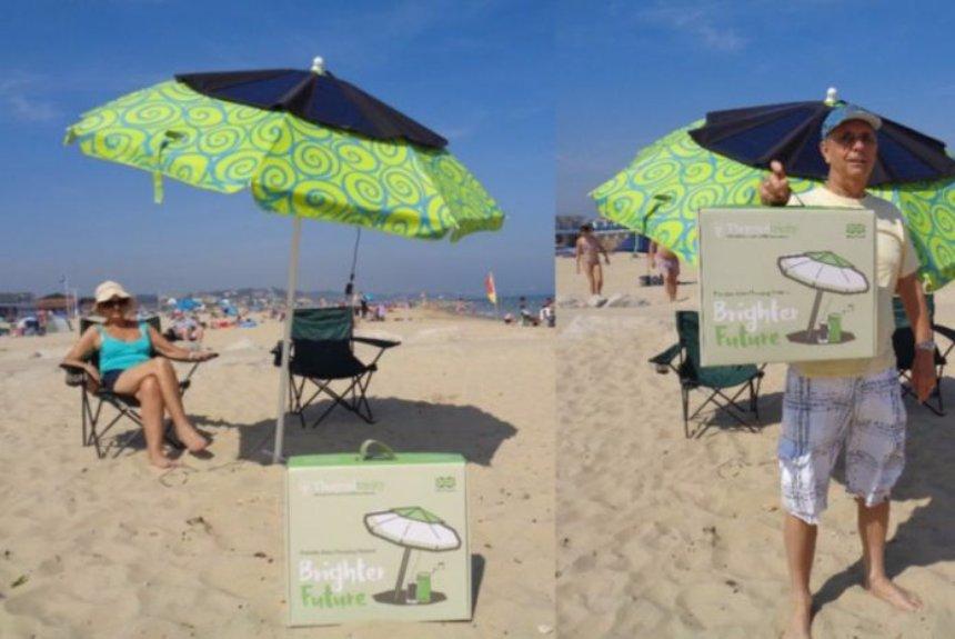 Разработчики создали зонтик, от которого можно заряжать гаджеты
