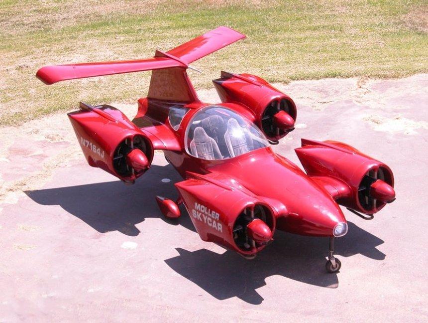 На eBay можно приобрести раритетный аэромобиль