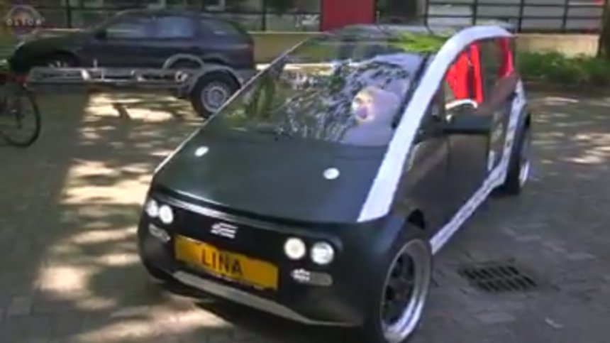 Ученые из Нидерландов создали автомобиль из биоразлагаемых материалов