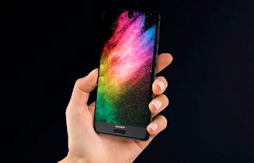 Sharp представила новый безрамочный смартфон Aquos S2