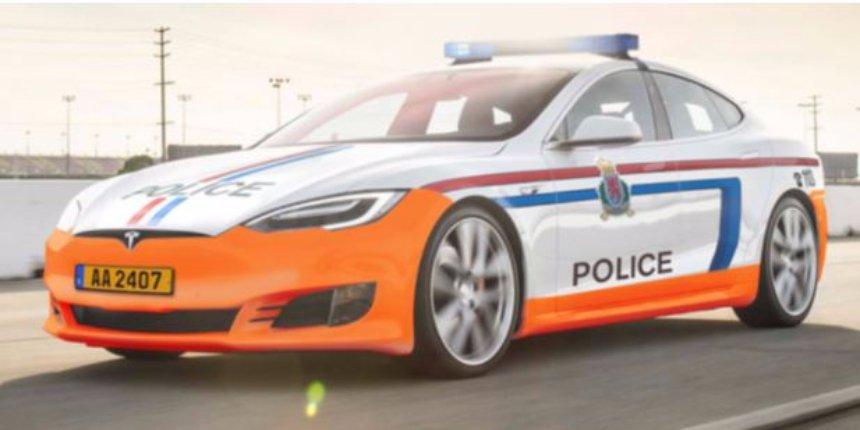 Полиция Люксембурга будет ездить на Tesla