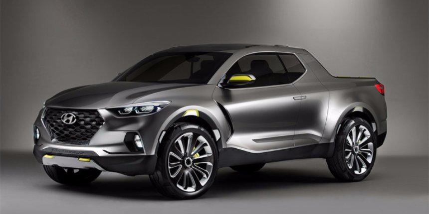 Компания Hyundai создала новый серийный пикап