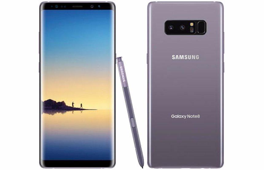 Samsung презентовала самый топовый смартфон Galaxy Note 8