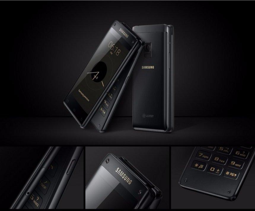 Samsung представила новую раскладушку Leadership 8