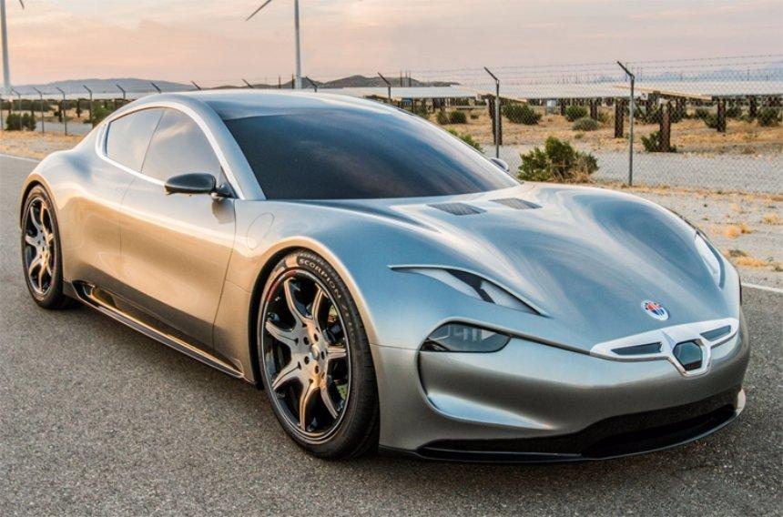 Названа дата выхода нового электрического суперкара Fisker EMotion
