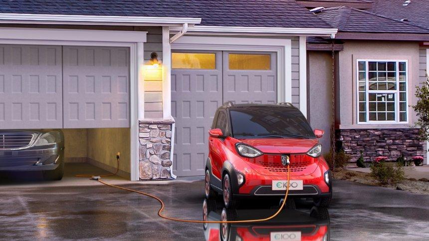 Презентован самый дешевый в мире электроавтомобиль