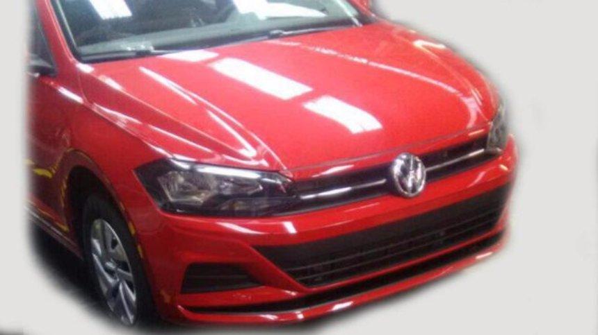 Появились первые фото обновленного Volkswagen Polo