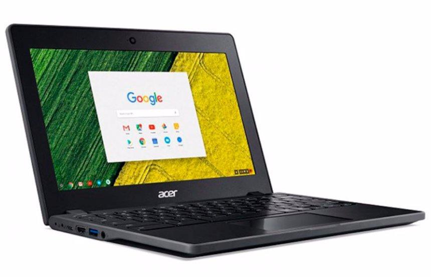 Acer представила новый ноутбук Chromebook