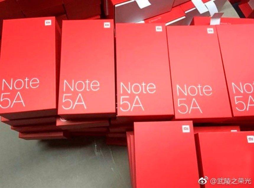 Появились новые данные о смартфоне Xiaomi Redmi Note 5A