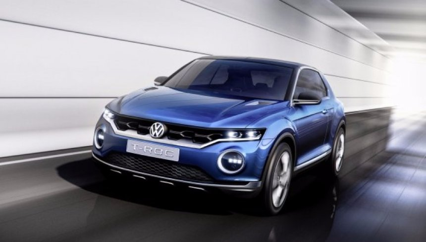 Volkswagen раскрыл дату выхода нового кроссовера T-ROC
