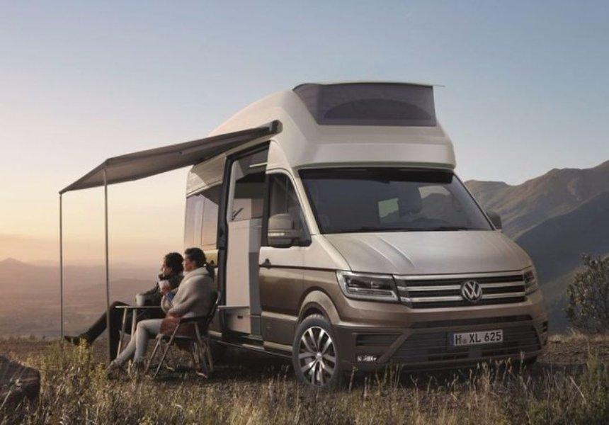 Volkswagen показала стильный дом на колесах