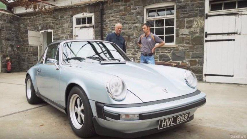 Из Porsche 911 сделают электромобиль