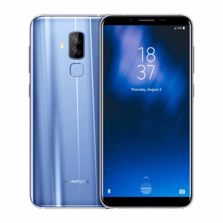 HomTom выпустила безрамочный смартфон S8