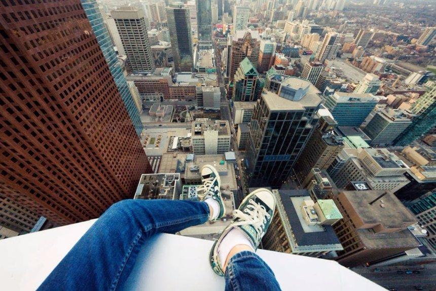Ученые научились преодолевать страх высоты с помощью магнитной стимуляции мозга