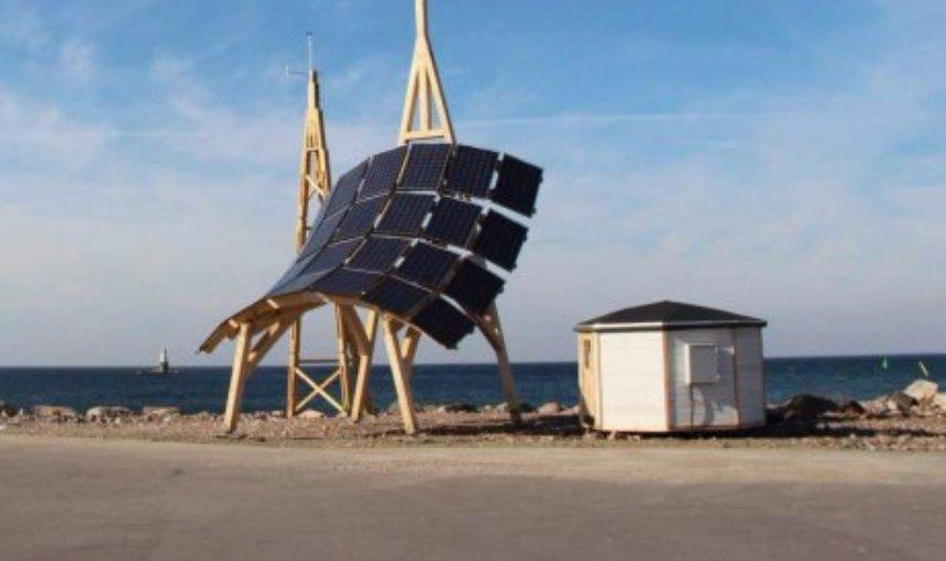 Создана электростанция, которая одновременно собирает энергию солнца и ветра