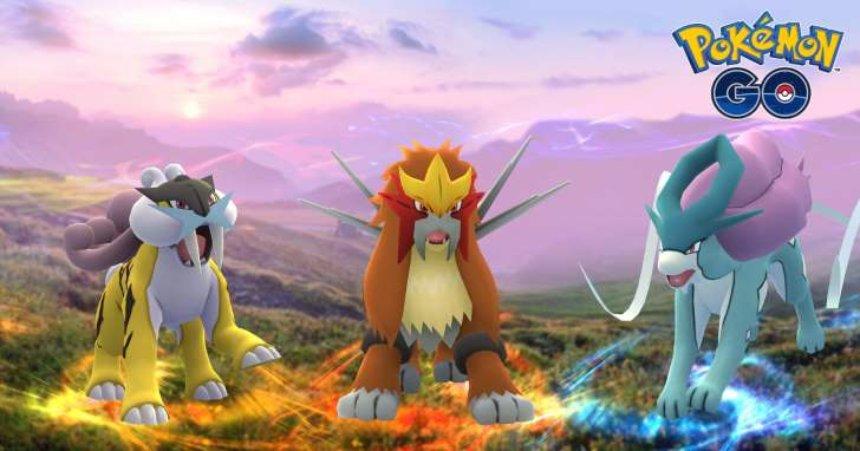 В Pokemon Go появится три новых легендарных покемона