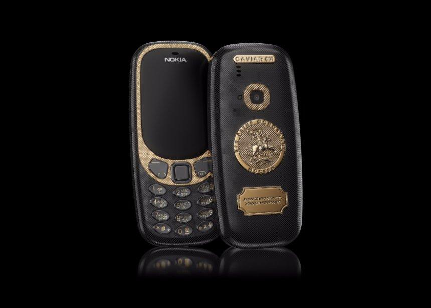 Бренд Caviar выпустил новую коллекцию телефонов