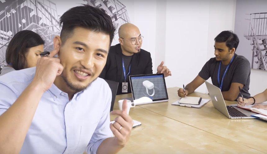 Гарнитур для смартфона вместят в кольцо