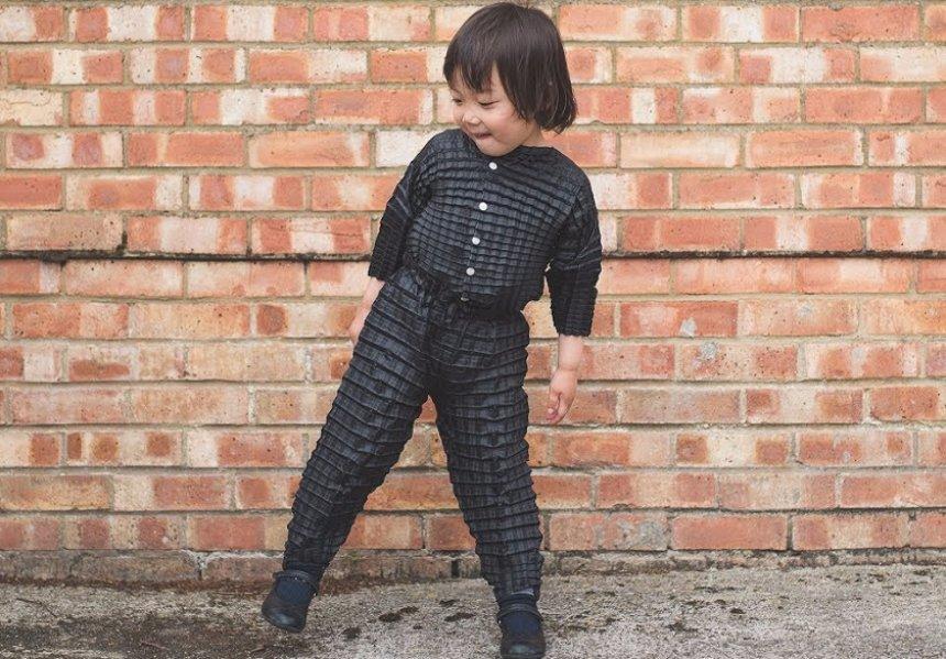 Создана одежда, которая растет вместе с детьми