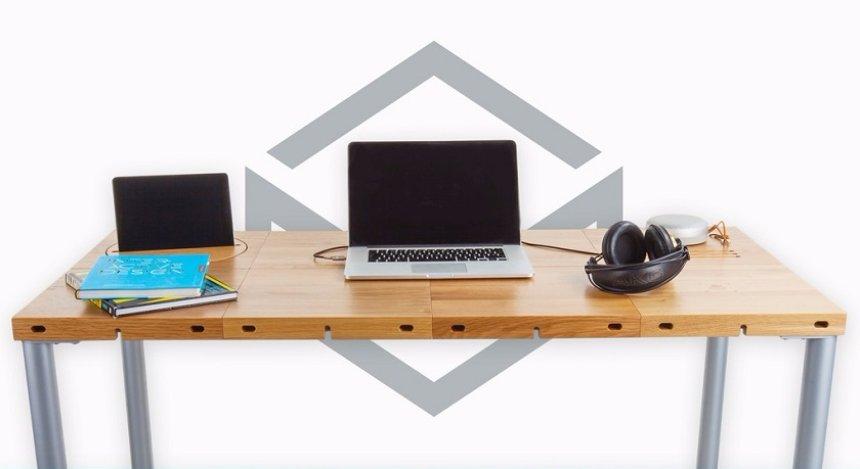 Создан модульный стол, который очень быстро подстраивается под желания и потребности человека