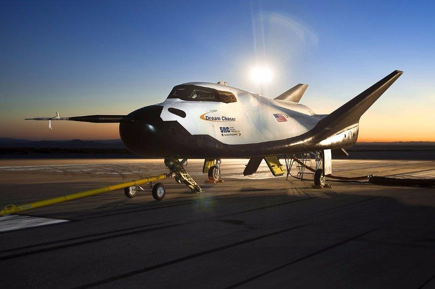 В США испытали новый космический корабль