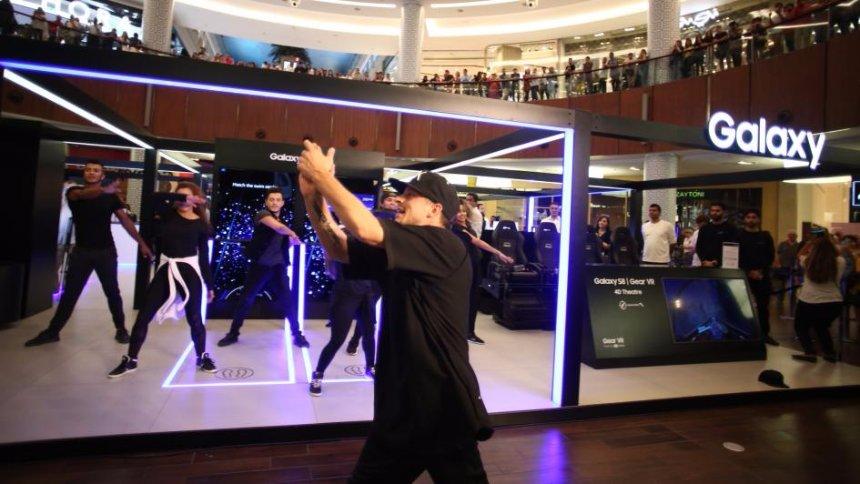 В Киеве открылась Samsung Galaxy Studio, на которой устройства можно трогать руками