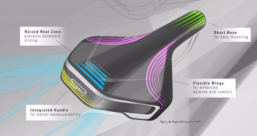BMW создала седло для электровелосипедов