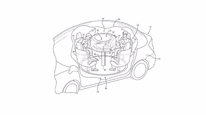 Ford создает стол для беспилотных автомобилей