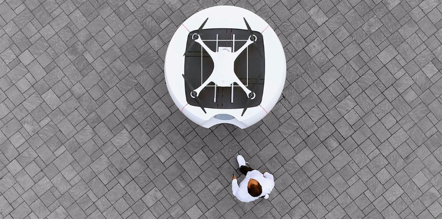 В Швейцарии запустят медицинских дронов-курьеров