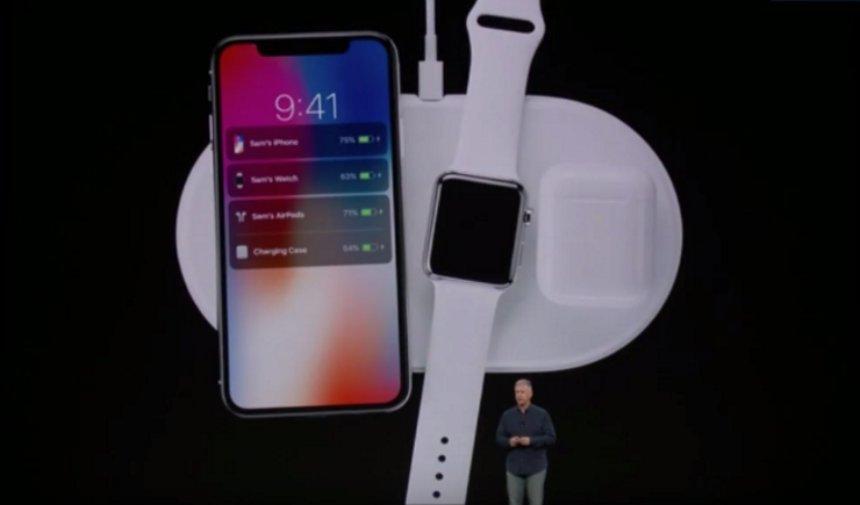 Представлена беспроводная зарядка AirPower от Apple