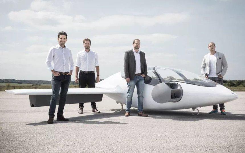 Немецкий стартап Lilium получил 90 млн долларов на строительство летающего такси