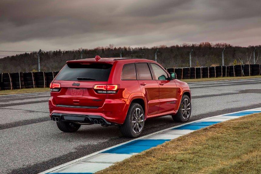 Представлен самый мощный в истории бренда Jeep автомобиль Grand Cherokee