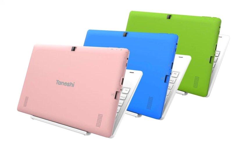 Выпущен новый детский ноутбук с функцией родительского контроля Tanoshi
