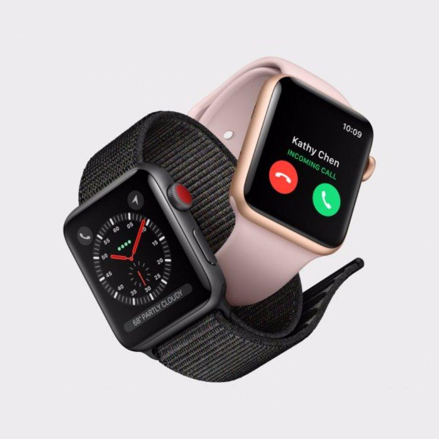 В Apple признали, что LTE в часах Apple Watch работает неправильно