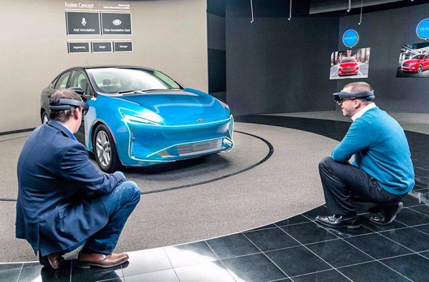 В Ford будут проектировать автомобили в 3D-очках