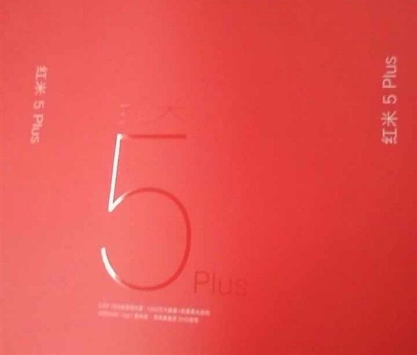Xiaomi выпустит новый смартфон Redmi 5 Plus