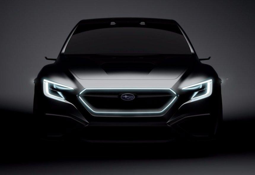 Subaru готовится представить новый спортивный седан